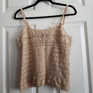 Tristan & Iseut  Crochet Tank Top
